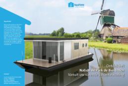 25twaalf - Reclame bureau Eindhoven Nuenen - Beeldbewerking Aquahome brochure